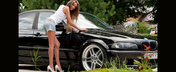 BMW E46 by Razvan - frumoasa negresa