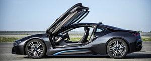 BMW i8: GALERIE FOTO cu supercarul hibrid al bavarezilor