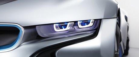BMW lucreaza la dezvoltarea farurilor cu laser