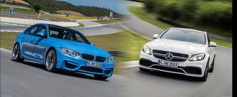 BMW M3 vs Mercedes C63 AMG: Ce alegi si de ce?