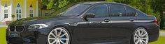 BMW M5, tunat de Hartge