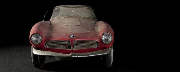 BMW-ul asta i-a apartinut lui Elvis Presley, si acum a fost restaurat in intregime