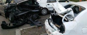 Bowling cu masini in Bucuresti: 8 dintr-o lovitura