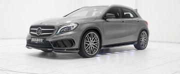 Brabus modifica noul Mercedes GLA45, obtine performante demne de un 911