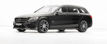 Brabus 'retuseaza' noul Mercedes C-Class T-Modell