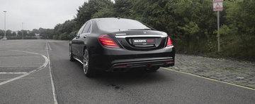 Brabus vrea sa asculti cum suna Mercedes-ul asta de 900 CP