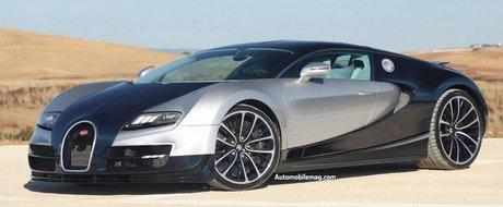 Bugatti Super Veyron: 1.600 cai putere, 0 - 100 km/h in 1.8 secunde