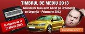Calculator Timbru de Mediu: PRIMUL CALCULATOR DIN ROMANIA al Taxei Auto 2013