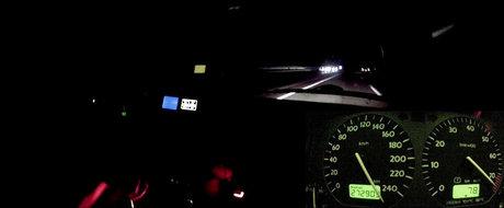 Cand noaptea se lasa, un VW Golf AWD de 1.150 CP iese la joaca