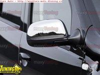 Capace oglinda din inox pentru Dacia Duster