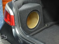 Carcasa Subwoofer Bmw seria 5 E60 sedan