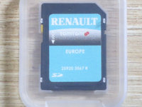 Card ORIGINAL Tom Tom Live GPS Update Renault Harti 2016