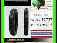CAUCIUC 3.50-18  3.50x18 ANVELOPA  350/18 DEESTONE D707 THAILAND Moto Scuter