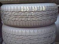 Cauciucuri Bridgestone 235 55 R18 second hand pret 900 lei set