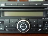 CD Player Clarion Nissan QASHQAI
