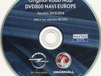 Cd500 Dvd800 harti navigatie OPEL Cd500 Dvd800 Insignia Astra J Meriva B harti 2014 2015