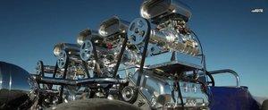 Cea mai spectaculoasa masina din lume: 2 motoare, 4 compresoare, fabricata in 1927