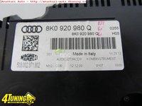 Ceasuri bord benzina originale Audi A4 8K cod 8K0920980Q