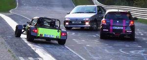Cei mai norocosi soferi de la Nurburgring, partea a doua