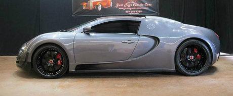 Cel mai ieftin Veyron din lume costa putin peste 80.000 de dolari