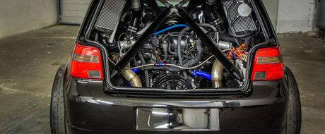 Cel mai nebun Golf din lume are un motor V10 bi-turbo si 1.500 CP