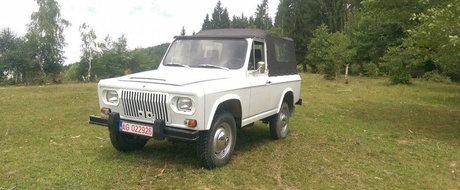Cineva din Arges are de vanzare un ARO 240 din 1976 pentru suma de 11.000 de Euro. Merita?