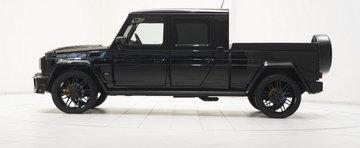 Ciudatenia Zilei: Brabus are la vanzare un Mercedes G500... Pick-Up