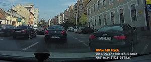 CJ-22-RKN este cocalarul cu Audi de la Cluj