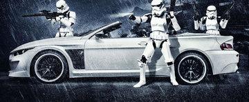 Clientul austriac, pasiunea pentru Star Wars si BMW-ul StormTrooper by Vilner