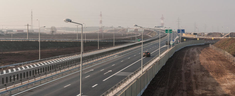 CNADNR inchide o portiune din A1 la nici un an de la inaugurarea ei