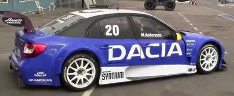 Cum arata si cum se aude noua Dacia Logan STCC