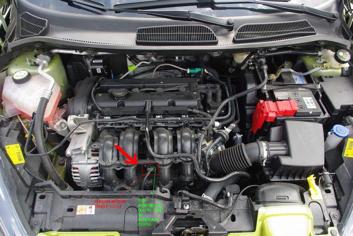 Cum Montez Un Chip Pe Debitmetru Ford Fiesta 74487