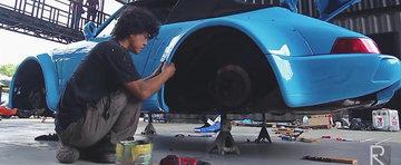 Cum se tuneaza un Porsche 964 Cabrio - metoda RWB