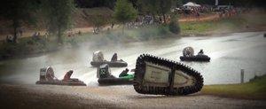 Cursele de Hovercraft par a fi cel mai amuzant motorsport din lume
