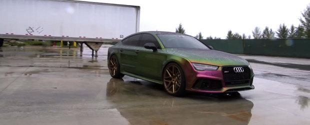 Cuvintele nu pot descrie cat de bine arata acest Audi RS7