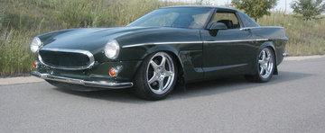 Daca Volvo P1800 si Corvette C4 ar fi avut un copil impreuna...