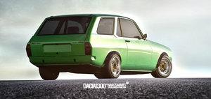 Dacia 1300 Break Coupe, by Narcis Mares - DE CE NU?