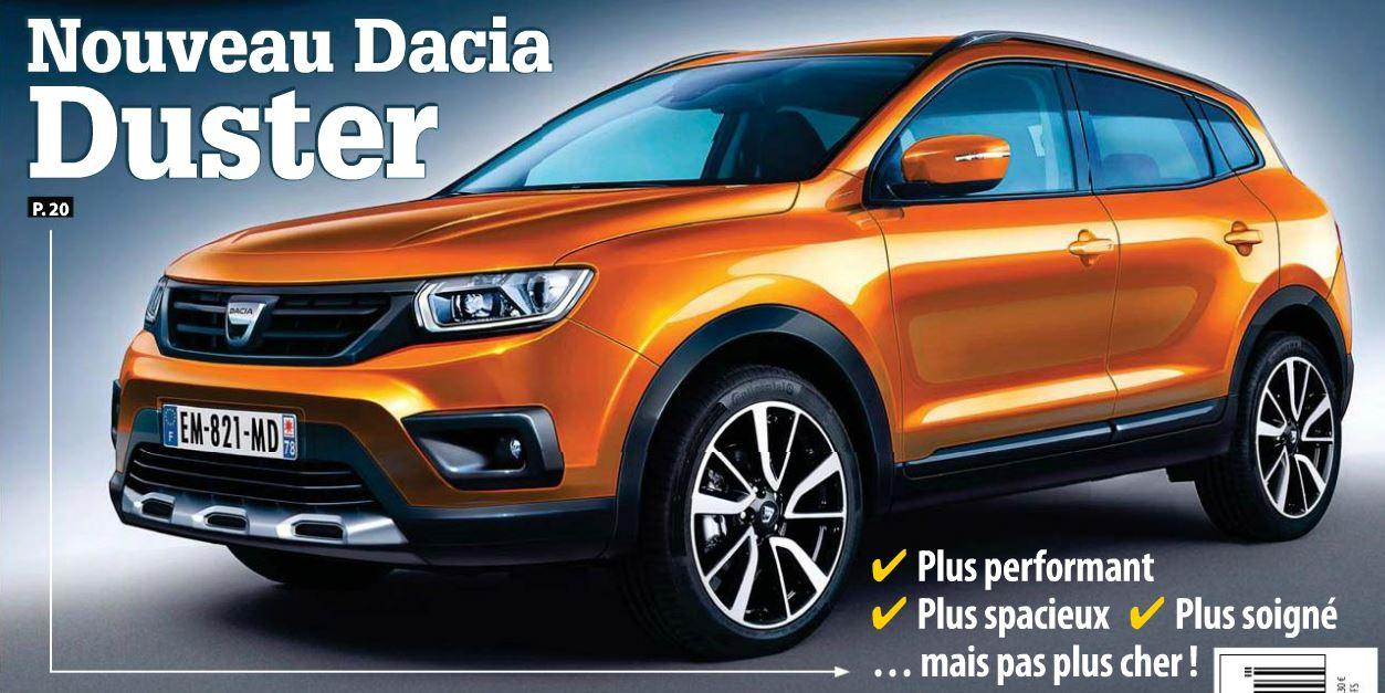 dacia duster 2018 oare cum va arata noul duster 2018. Black Bedroom Furniture Sets. Home Design Ideas