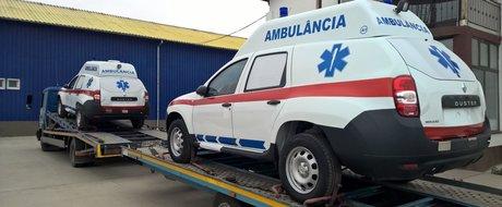 Dacia Duster Ambulanta, noul produs special dedicat salvarii de vieti