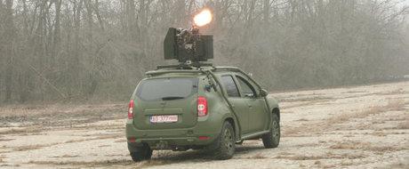 Dacia Duster Army: totul despre SUV-ul romanesc de razboi