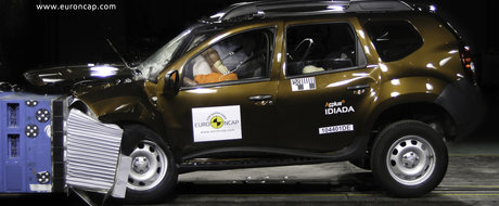 Dacia Duster pica testele de siguranta Euro NCAP