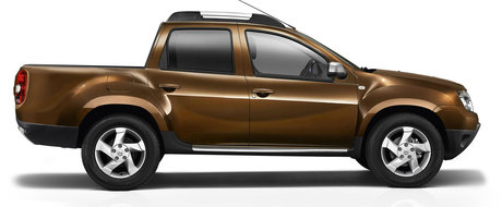 Dacia Duster pick-up: crezi ca e posibil?