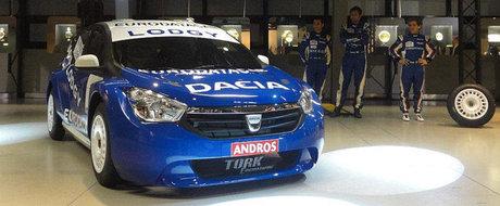 Dacia Lodgy Glace - Asa arata viitorul model Dacia in versiunea de curse!