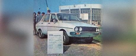 Dacii necunoscute: Dacia 1410 Economic din 1981, masina care consuma doar 4.4 l/100km