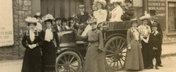 Daimler Wagonette, prima masina de nunta din lume