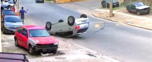 DE ASTA nu mergi cu viteza pe un drum cu speed bump-uri