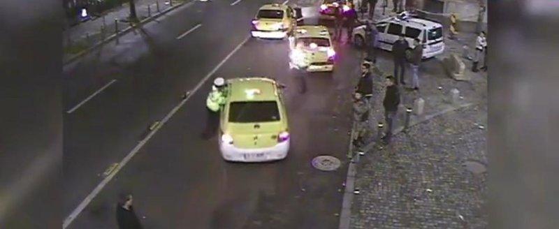 De ce nu merita politistii respect: taximetristul care il ia pe sus pe un agent