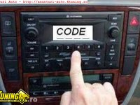 Decodari radio casetofoane auto orice model
