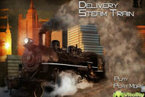 Delivery steam train