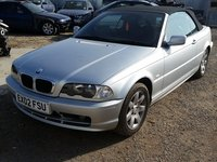 Dezmembrari bmw seria 3 cabrio e46,motor 318i,143 cp,an 2002,DEZMEMBRARI-PIESE BMW E46